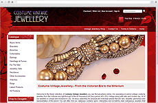 Zigzag Website - Costume Vintage Jewellery