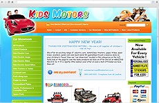 Zigzag Website - Kids Motors