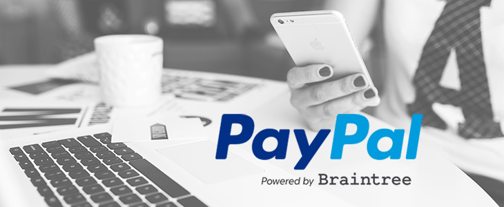 PayPal Powered by Braintree is now available on Bluepark