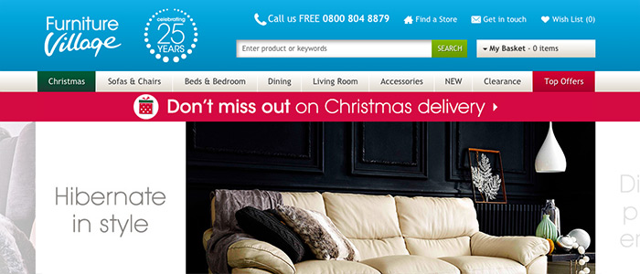 Christmas Delivery Banner