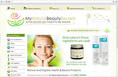 Zigzag Website - My Natural Beauty Secrets