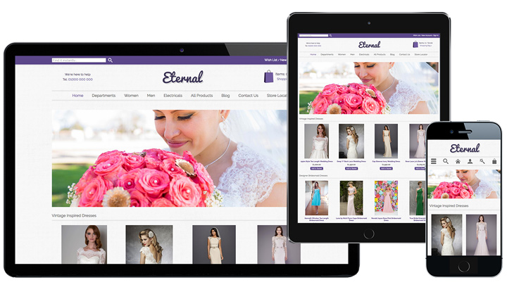 Eternal Responsive Template