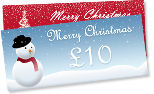 Offer gift vouchers with Bluepark