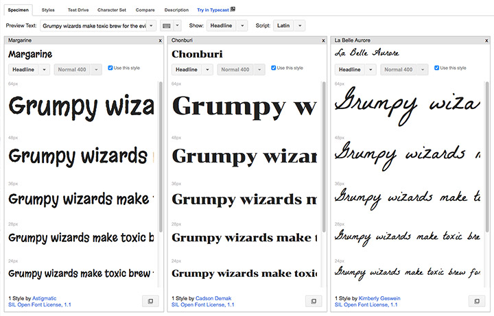 Google Fonts Review