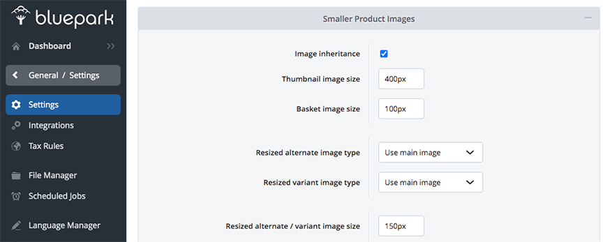 Image Inheritance feature