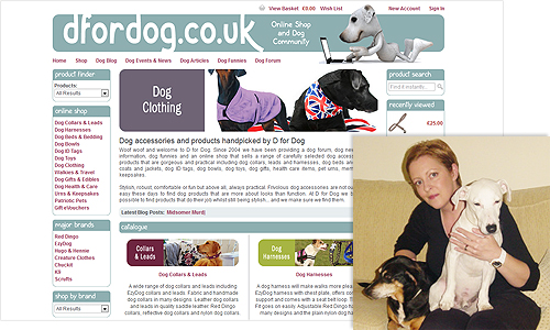 D for Dog at www.dfordog.co.uk