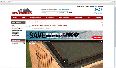 Evo Roofing How To Install Roofing Shingles - Video Guide