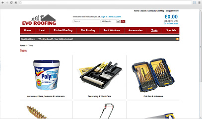 Evo Roofing Tools