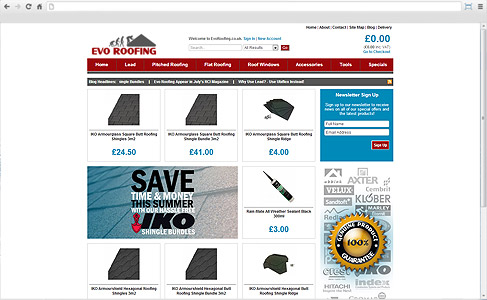 Evo Roofing at www.evoroofing.co.uk