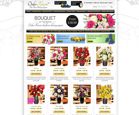 Order Flowers at www.order-flowers.co.uk