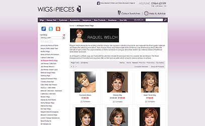 Raquel Welch at Wigs & Pieces