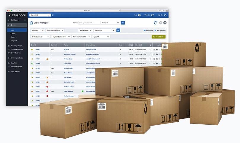 Connect Ebay To Your Online Shop Bluepark Co Uk