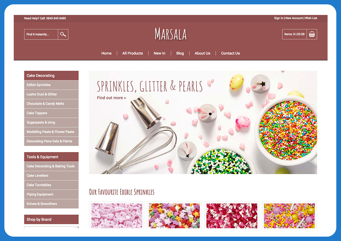 Design Your Online Shop With Our Free Templates - Bluepark co uk