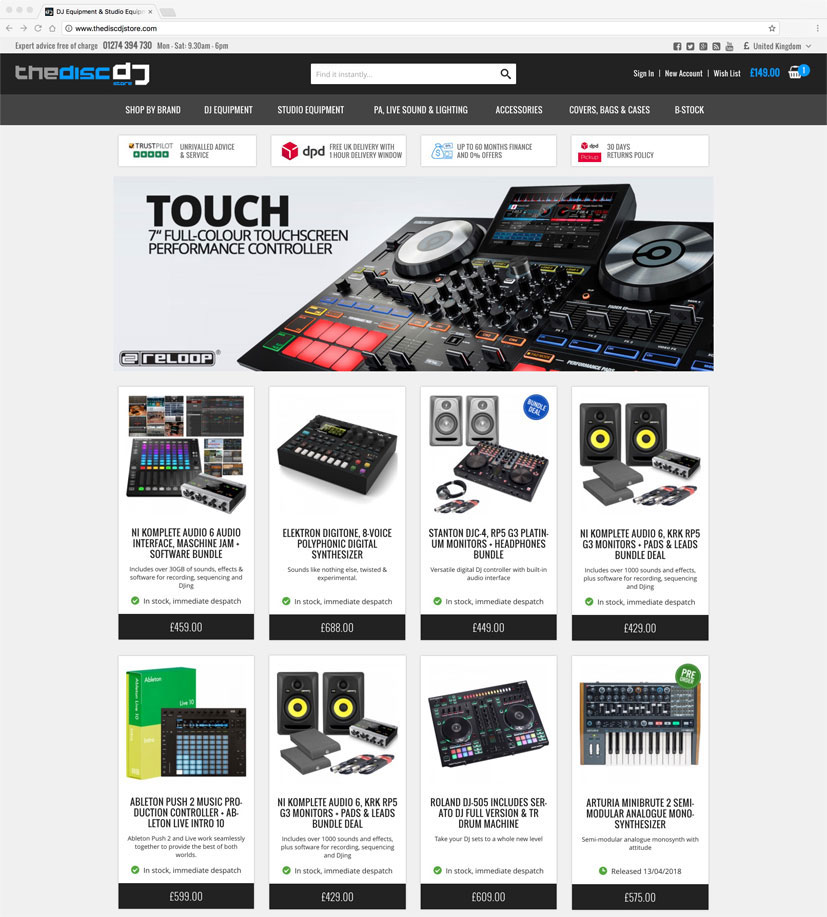 The Disc DJ Store
